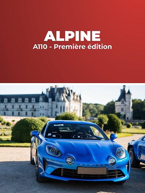 Alpine A110 Première Edition • Stage conduite