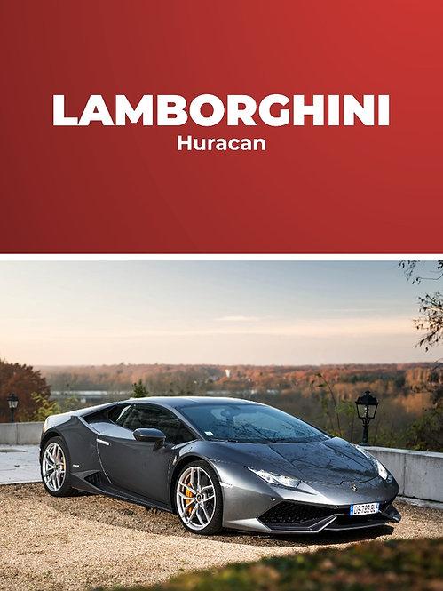 Lamborghini Huracan • Baptême passager