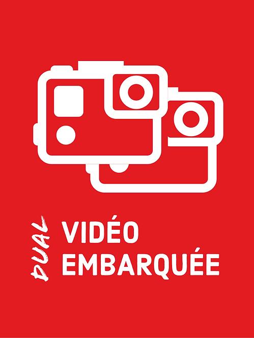Dual vidéo embarquée