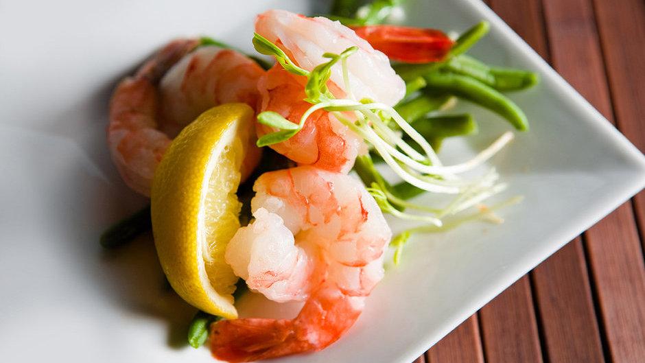 Frozen Shrimp - Raw, Peeled & Deveined, Tail-on,  2 lb bag