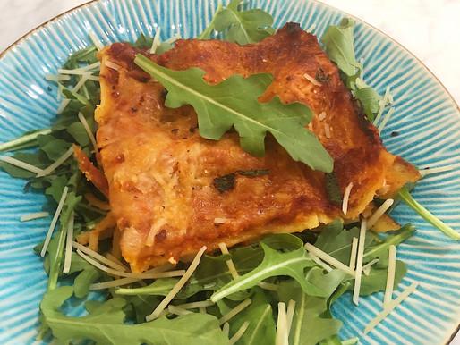 Fall Favorite: Roasted Acorn Squash Lasagna