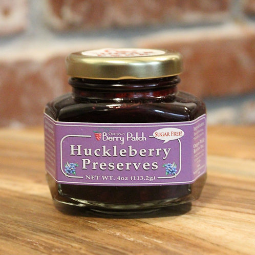 12oz. Sugar Free Huckleberry Preserve