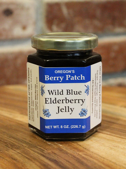 8oz. Wild Blue Elderberry Jelly