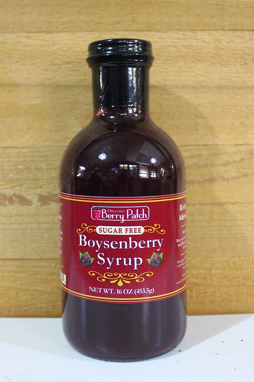 16 oz. Sugar Free Boysenberry Syrup