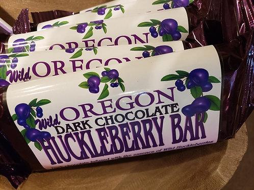 Wild Dark Chocolate Huckleberry Bar