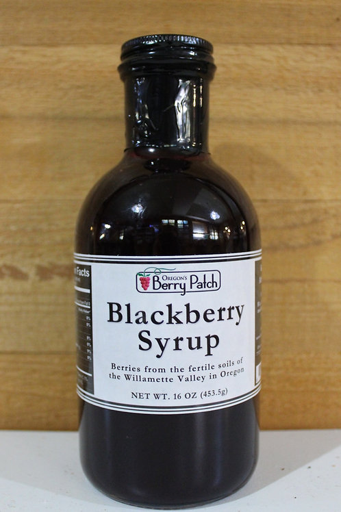 16oz. Blackberry Syrup