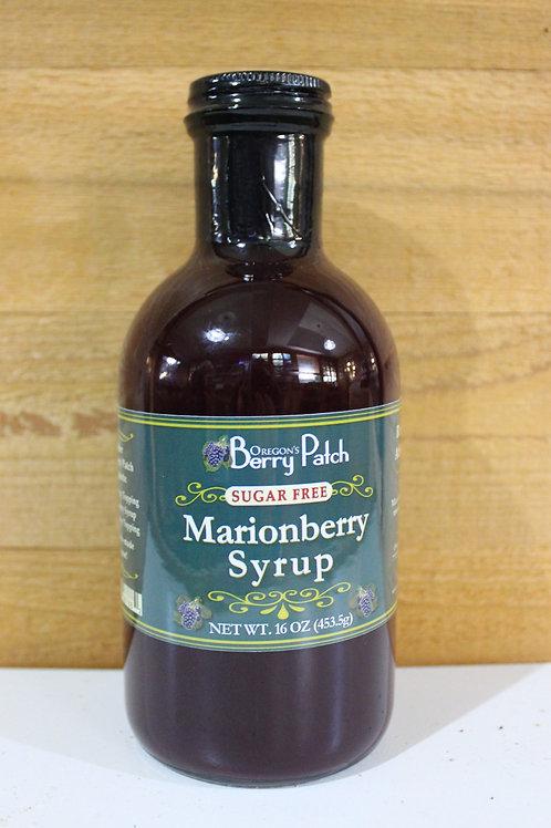 16 oz. Sugar Free Marionberry Syrup
