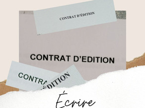 Contrat d'édition