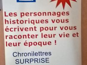 Les Chronilettres au Startup For Kids !!!!!!!!