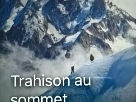 Trahison au sommet, mon nouveau thriller sur Microstory !