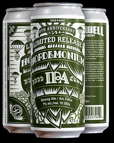 Hopdemonium IPA 8 Anni - 4 pack Cans (3