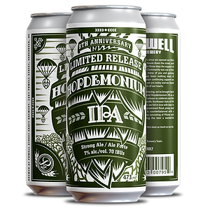 Hopdemonium IPA 8 Anni - 4 pack Cans (3