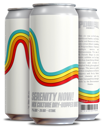 SERENITY NOW - 4 pack Cans (3 Different