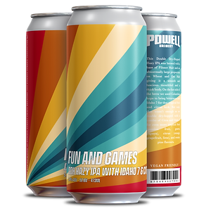 FUN AND GAMES IPA - 4 pack Cans (3 Diffe