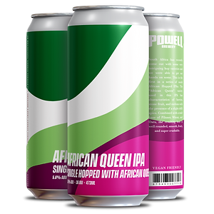 African Queen IPA - 4 pack Cans (3 Diffe