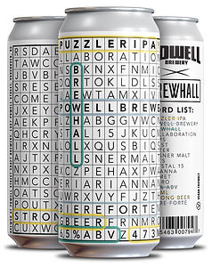 POWELLxBREWHALL - 4 pack Cans (3 Differe