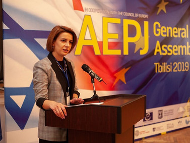 AEPJ General Assembly - Tbilisi Press. One more step of Georgia, Israel and world Jews