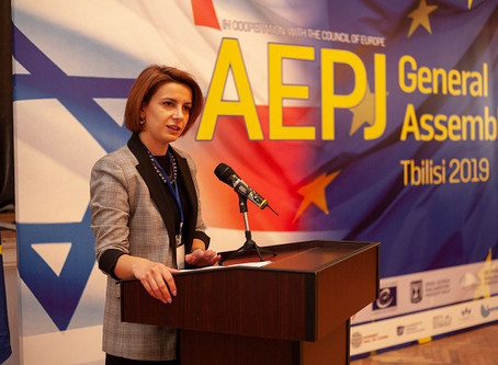AEPJ General Assembly - Tbilisi Press კიდევ ერთი ნაბიჯი საქართველო, ისრაელისა და მსოფლიო ებრაელობის