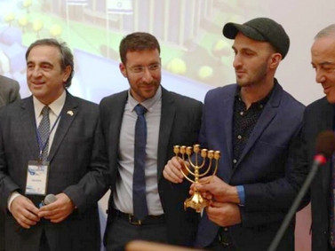 """Forum """"Hasbara"""" and the opening of the Israeli/Jewish Library were held by """"Israeli House"""""""