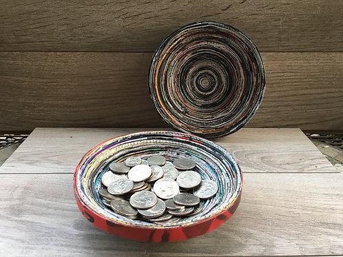 QST Silver Coin Bowl