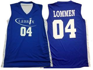 Labrix Custom Basketball Jersey