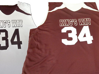King's Way Christian Basketball Team ReversibleUniforms