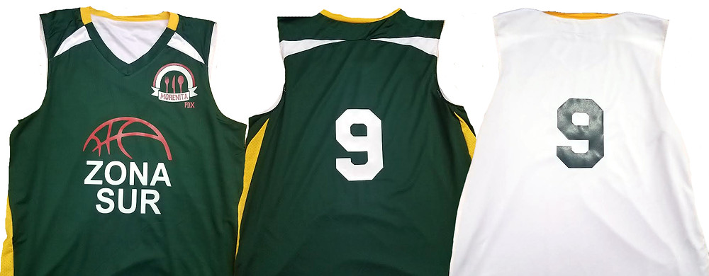 Zona Sur Basketball Jersey