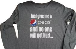 Custom Pepsi Tee