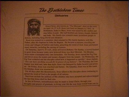C4 - The Bethlehem Obituary