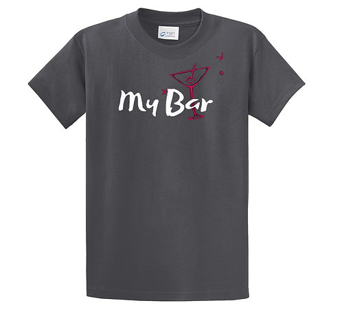 Men's Tee with back print