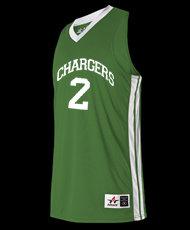 MensSingle Ply Basketball Jersey