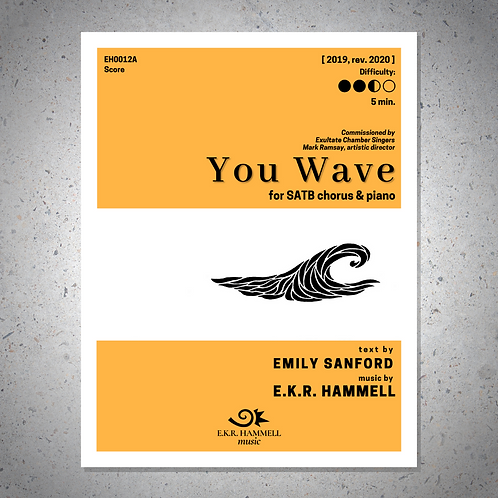 You Wave [SCORE]