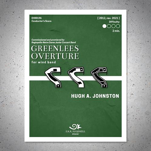 Greenlees Overture [SCORE]