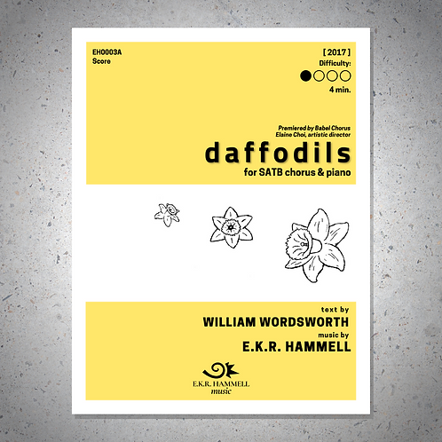 Daffodils [SCORE]