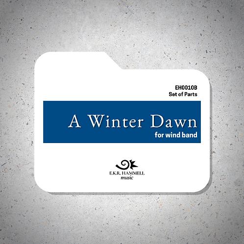 A Winter Dawn (band version) [PARTS]