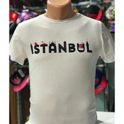 istanbul baskılı tişört