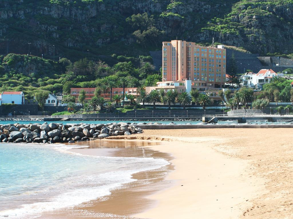 Machico beach, 3 min. walk