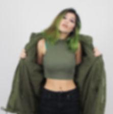 Carmel Paradise Buckingham, alternative pop singer-songwriter, international model