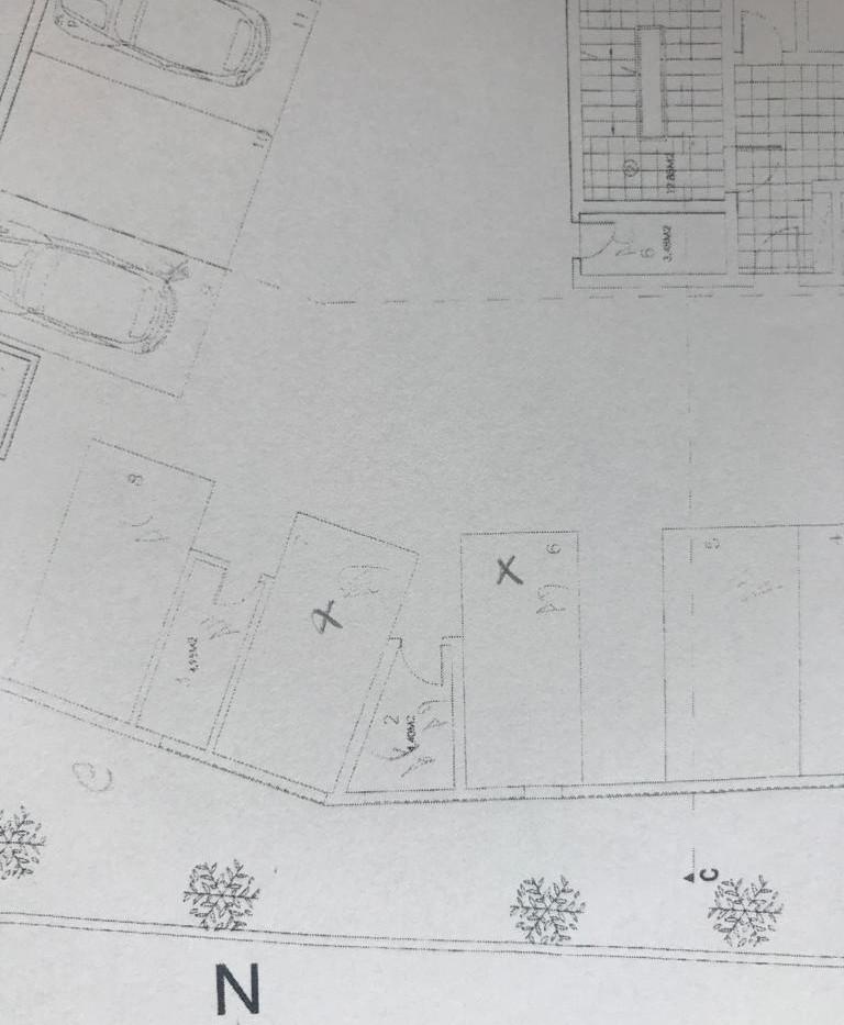 Two Indoor Parking Spaces