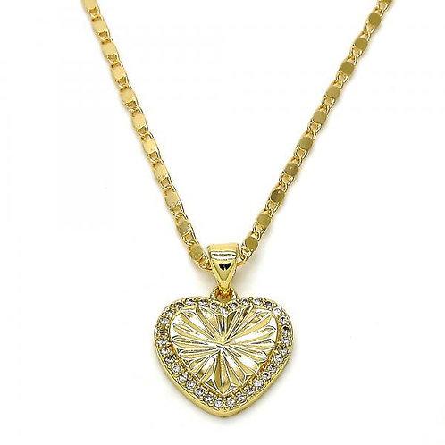 Diamond Cut Heart