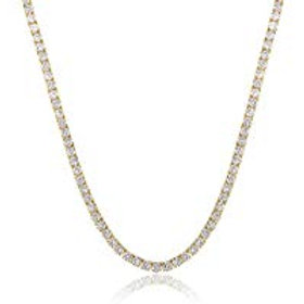 Rich Girl Tennis Necklace