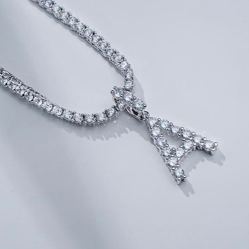 So Icy Initial Necklace