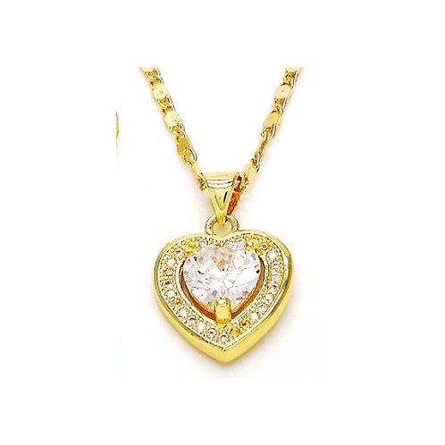 Luxe Heart Cz