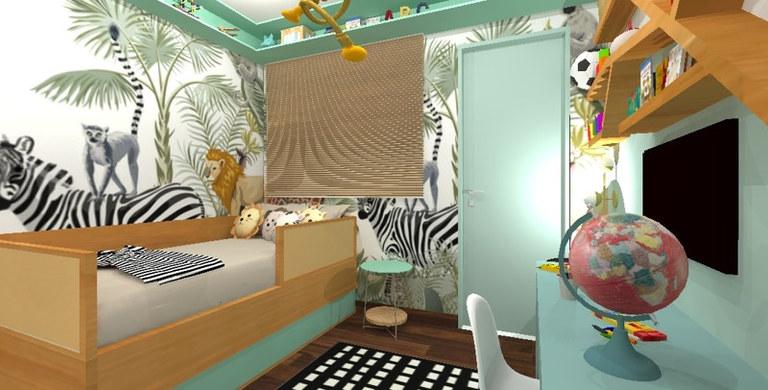 Dormitório Safari | Mooca