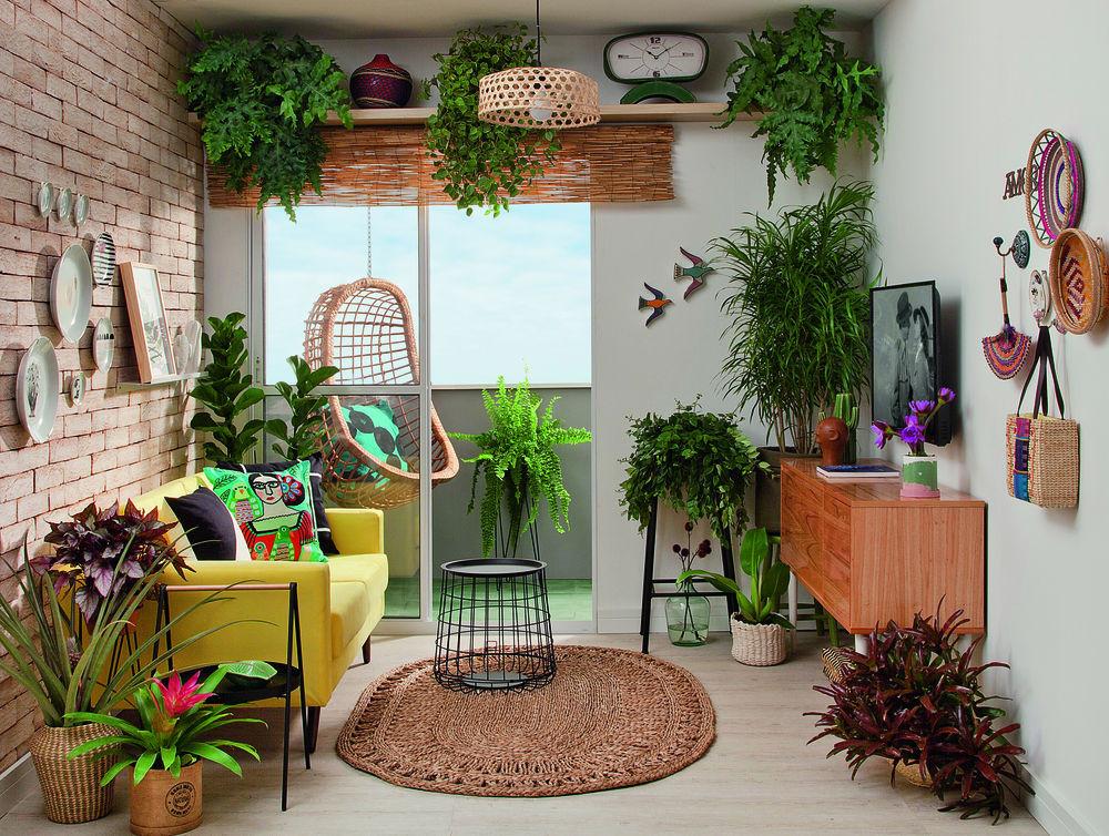 Urban Jungle com pontos de cor. Fonte: Minha Casa