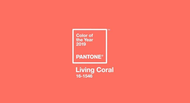 Living Coral por Pantone.