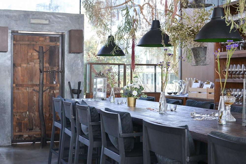Espaço Gourmet com decoração rústica