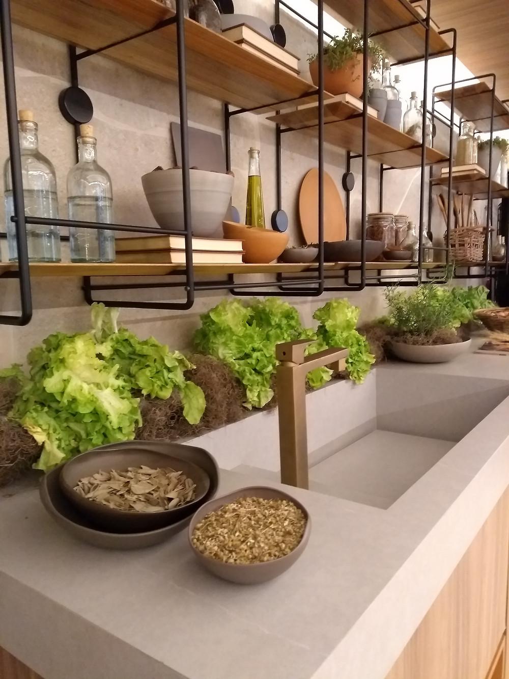 Cozinha rústica Casa Cor 2018 São Paulo