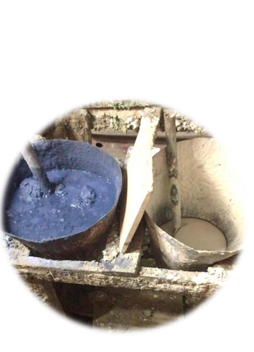 pigmentos do ladrilho hidráulico
