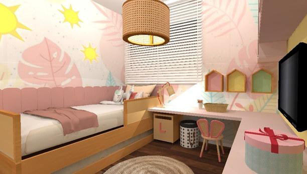 Dormitório Candy Colors